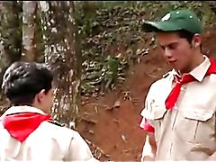 Scouts On Patrol - They are always ready for a good