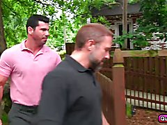 Two horny bears Billy Santoro and Dirk Caber fuck a