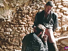 Watch this epic sword fight between Colby Keller and Toby Dutch. What you will see is the Ga...