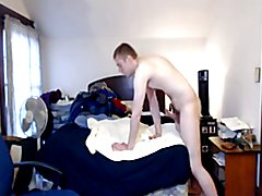 A straight guys huge cock cumshot compilation!
