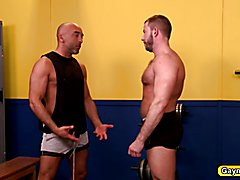 Gay Daddies Brian DaVilla and Shay Michaels are hot in