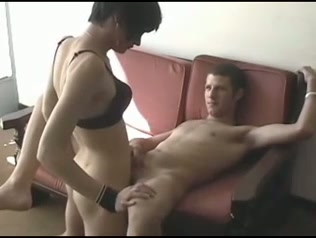 Guy fucked by transvestite