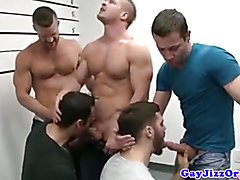 Landon Conrad in a Prison line up that turns into an