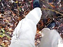 cock outdoor in the woods