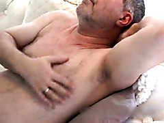 hot daddy solo action