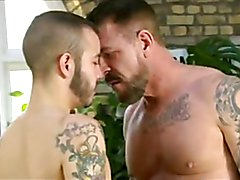 Damian and Rocco Steele  ( In hot Bareback sex)