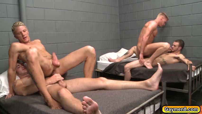Sucking cock in prison