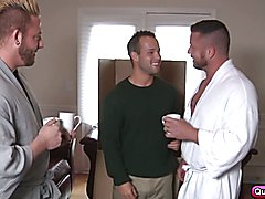 Aaron Bruiser and Charlie Harding taking turns fucking