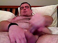 Bear cub jacking off