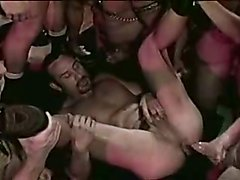 Group sex - leather