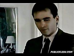 Rare retro homosexual otk ass spanking