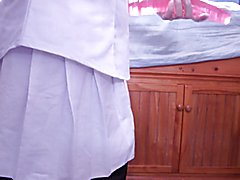 Crossdressing Nurse Dildo