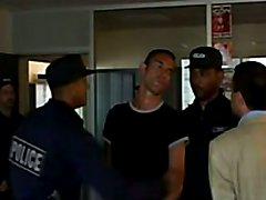 Police Hand Spanking in Prison 2