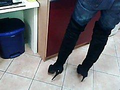 Cum on High Heels Mix 414