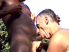 Tanned daddy loves BBC