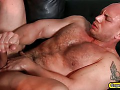 Fucking with rock hard cock in the ass with my buddy