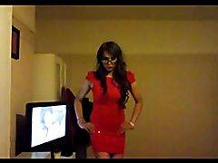 Hi! Just me in my Red Dress making a fool out of myself! Haha! xx KaylaGirl80 xx