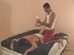 Horny gay men fucking ass BDSM