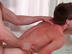 Hard twink Bareback anal fucking