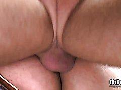 Big Bear bareback anal fuck