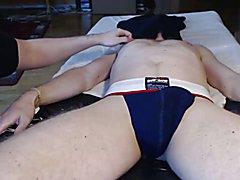 Me edge tease milk ballsackmassage Danish hung stud