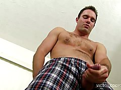 Hairy and Hung Daddy Cameron Kincade Jacks Off