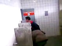 gay spy voyeur restroom public jerk suck fuck cum
