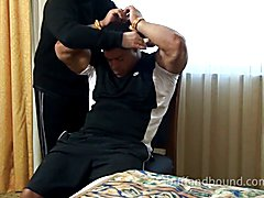 Spanking muscle men