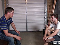 Johnny Rapid tells the story of how he loses his virginity to the beefy Urijah