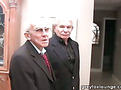 Two old guys and a silver daddy