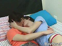Corey Jakobs and Josh Bensan rock their bed off  scene 2