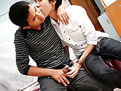 Gay Asian Twinks Jason and Joel Piss and Bareback