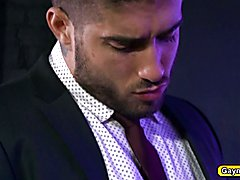 Diego Sans soon comes seeking out Vadim Diego has his way with Vadim and give his nice big B...
