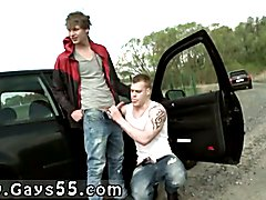 Porno old young gay Hitchhiking For Outdoor Anal Sex From Dudes!