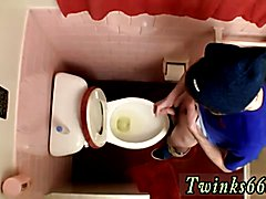 Sex porno videos massages gay first time Unloading In The Toilet Bowl