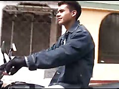 Hung Latin Twink Santiago Jacking Off