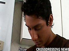 Crossdressing makes me feel so horny