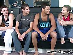 Hairy buff gay man fucks twink Orgy W Tyler, Ryan, Skyler, Kaden