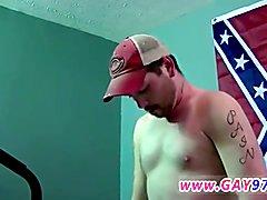 Physical exam fetish gay porn Brian Gets A Hard Slice