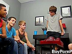 Handsome guys enjoying a hottest orgy around  scene 2