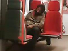 Str8 spy-caught a homeless jerking off