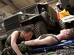 Naked large shaved penis in hand gay Uniform Twinks Love Cock!