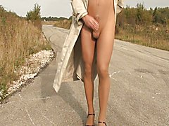 Pantyhose Outdoor part 6 of 6