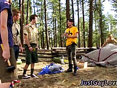 Cute boys kissing and cumming gay first time Horny fellows Jason and Tanner have had the