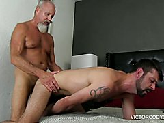 Victor is having a party and Cody Valentine's ass is the party favor. Cody lubes his ass and...