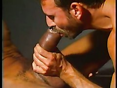 Al Sucks Massive Pumped Black Cock