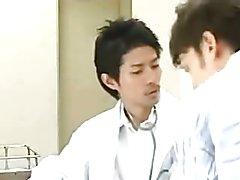 Japanese doctor in OTC socks