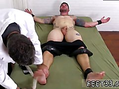 Foot feet gay Clint Gets Naked Tickle  Treatment