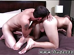 Gay foot fisting porn With Trent on all fours, Caleb pushes his tongue up Trents ass, and