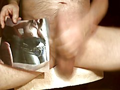 Tribute for foxpounder - cumshot on her big tits